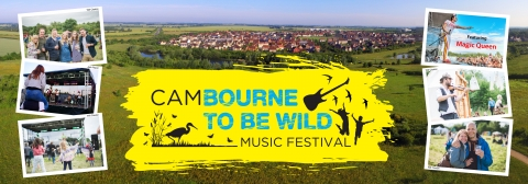 Cambourne to be Wild web header