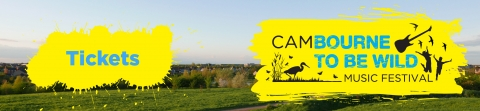 Cambourne to be Wild 2020 ticket banner
