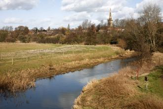 A view of Kingsthorpe Meadow