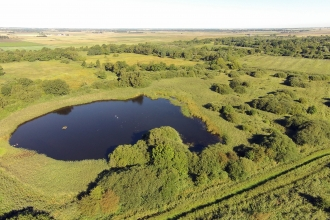 Aerial image of Woodwalton Fen