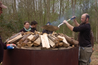 Charcoal Burning - The Wildlife Trust BCN