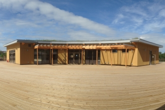 Nene Wetlands Visitor Centre by Katie King