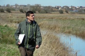 Patrick Barkham at the Great Fen