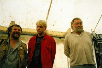 Bill Oddie, Chris Packham and David Bellamy in the 1990s.