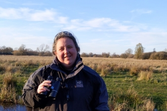 Becca at Woodwalton Fen by Andrew Chapman