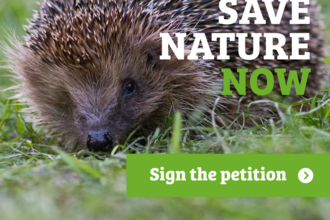 Save nature now - sign the petition
