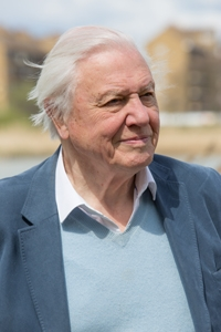 David Attenborough at Woodberry Wetlands
