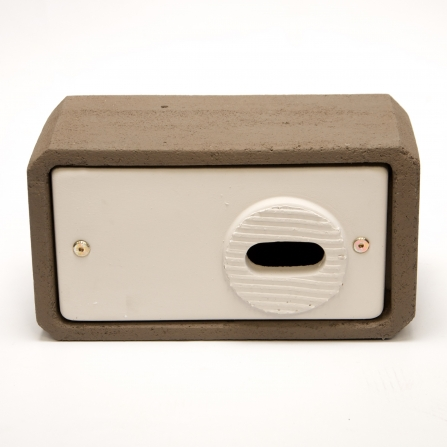 A woodstone swift box