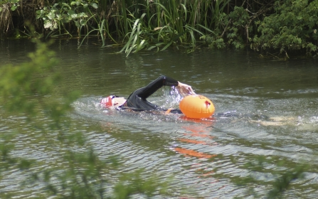 Wild Swimmer in the Nene