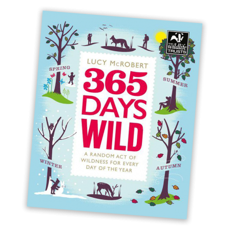 365 Days Wild by Lucy McRobert - book cover
