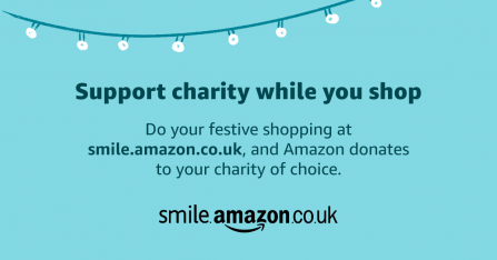 Support charity while you shop: smile.amazon.co.uk