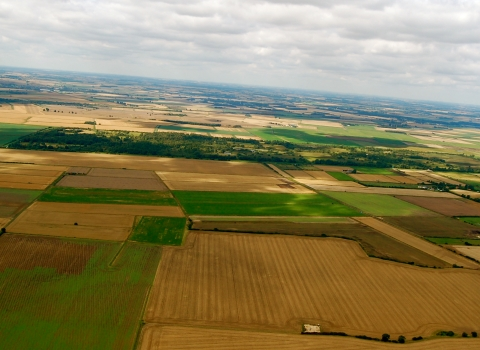 Great Fen aerial